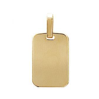 Colgante bañado oro 750 milésimas